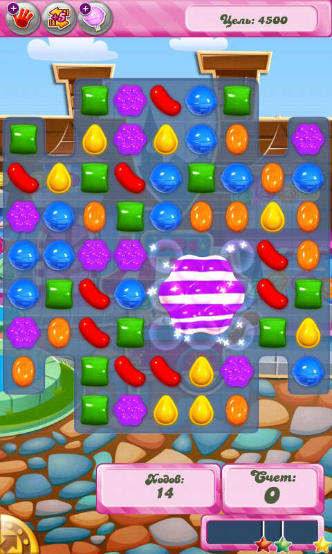 Candy Crush Saga Скриншот 3