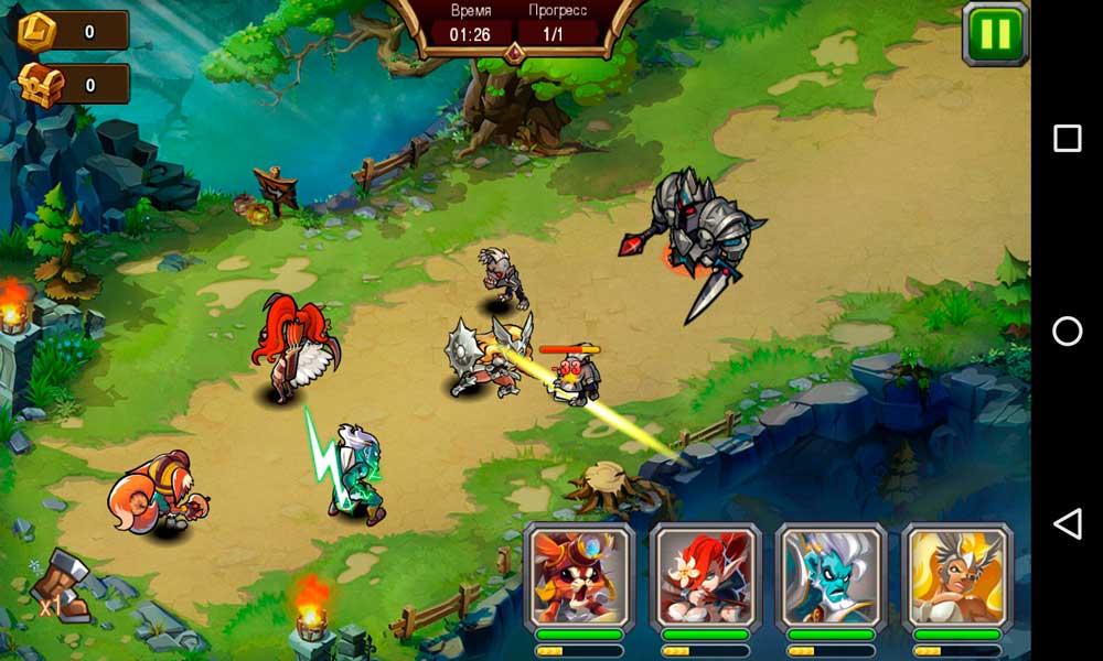 Magic Rush: Heroes Скриншот 1