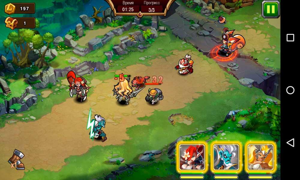 Magic Rush: Heroes Скриншот 2
