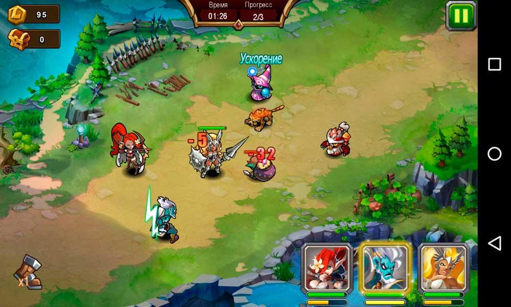 Magic Rush: Heroes Скриншот 3