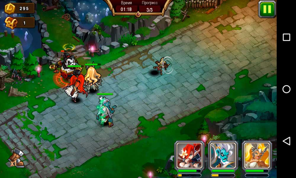 Magic Rush: Heroes Скриншот 4