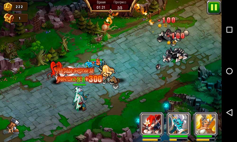 Magic Rush: Heroes Скриншот 5