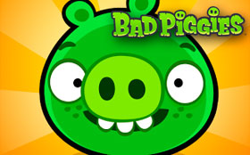 Игра Bad Piggies на Андроид