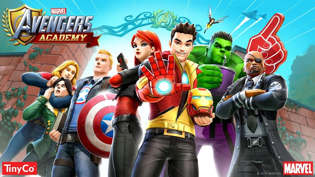 Marvel Avengers Academy. Скриншот