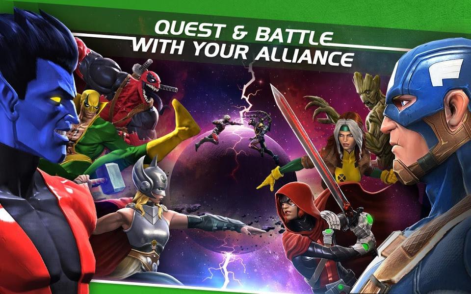 Marvel: Битва чемпионов. Скриншот