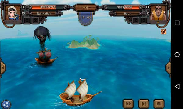 Rage of the Seven Seas Screen 2
