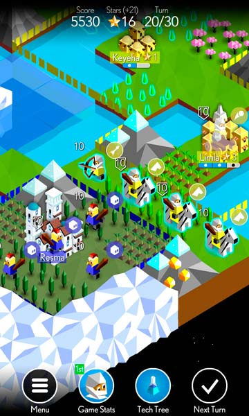 The Battle of Polytopia Screen 5