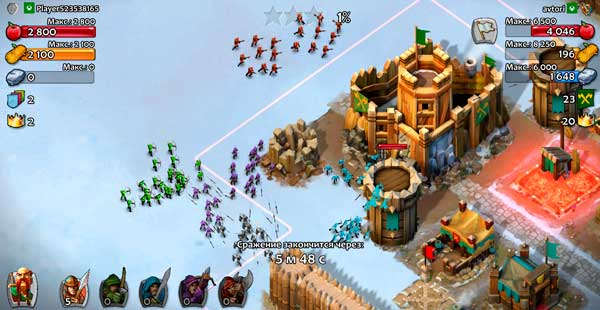 Age of Empires Castle Siege Screen 3
