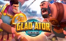 Gladiator heroes Logo