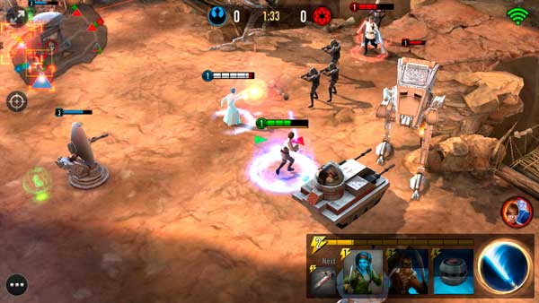 Star Wars Force Arena Screen 5