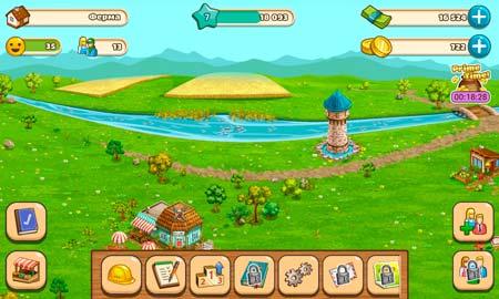 Big Farm Mobile Harvest Screen 4